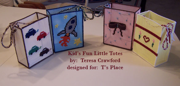 Kid's Fun Little Totes