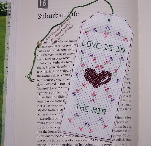 Cross My Heart Bookmark