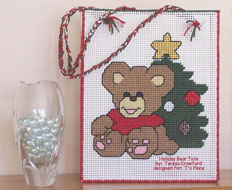 Holiday Bear Tote